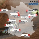 Carte du Championnat de France 2018